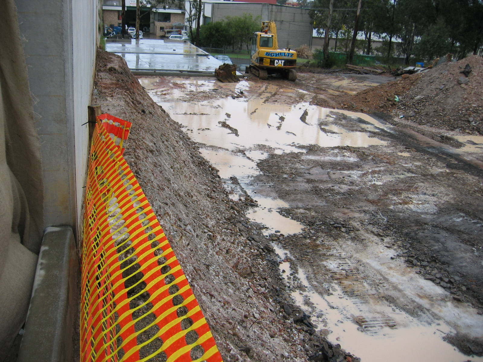 Civil engineering hydraulic flood