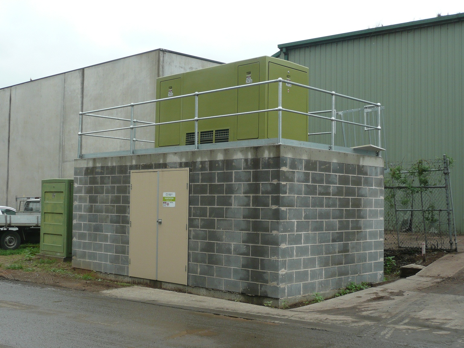 electrical sub-station structural design